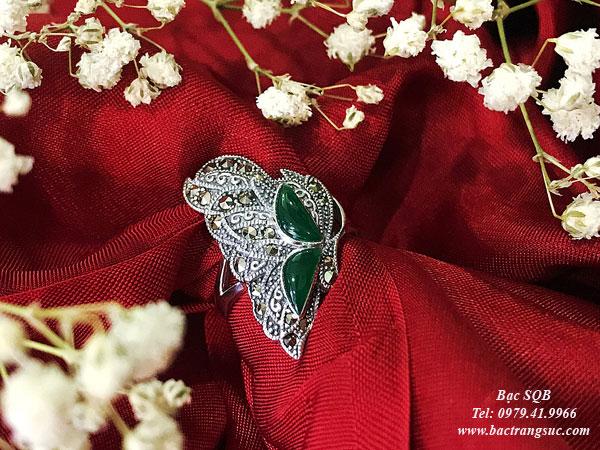 Nhẫn bạc nữ RI-3050