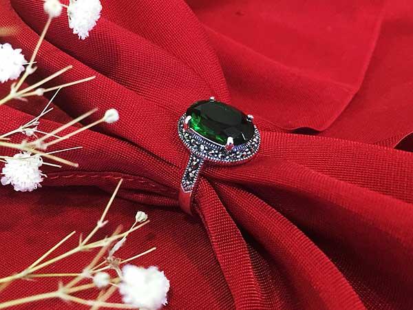 Nhẫn bạc nữ RI-2521