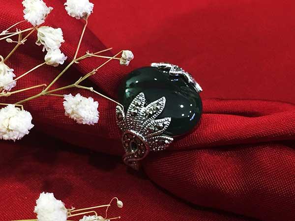 Nhẫn bạc nữ RI-2613