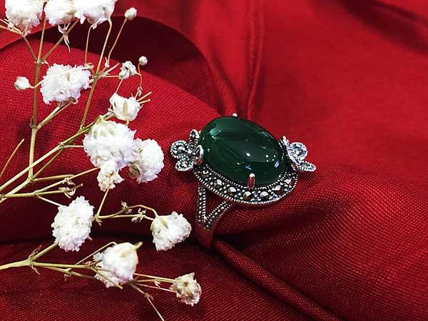 Nhẫn bạc nữ RI-2655