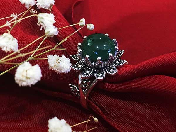 Nhẫn bạc nữ RI-2704
