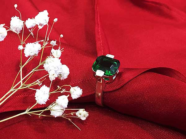 Nhẫn bạc nữ RI-2841