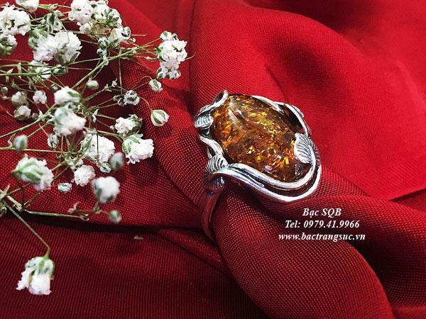 Nhẫn bạc nữ RI-3066