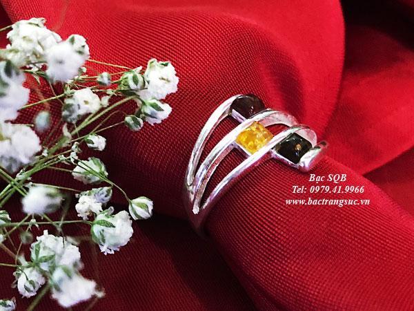 Nhẫn bạc nữ RI-3067