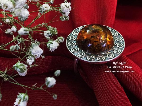 Nhẫn bạc nữ RI-3068