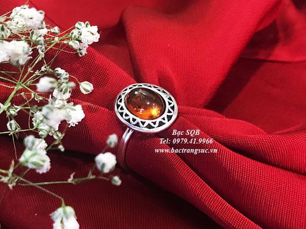 Nhẫn bạc nữ RI-3070