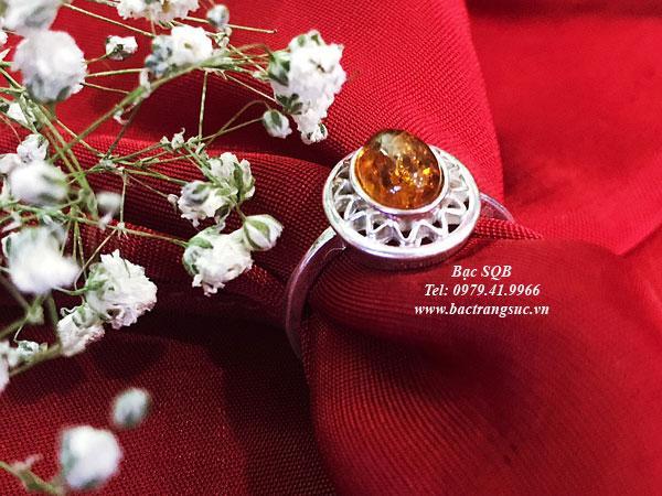 Nhẫn bạc nữ RI-3073