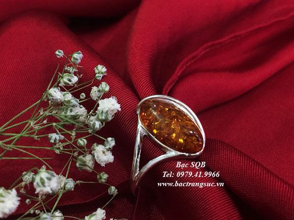 Nhẫn bạc nữ RI-3077