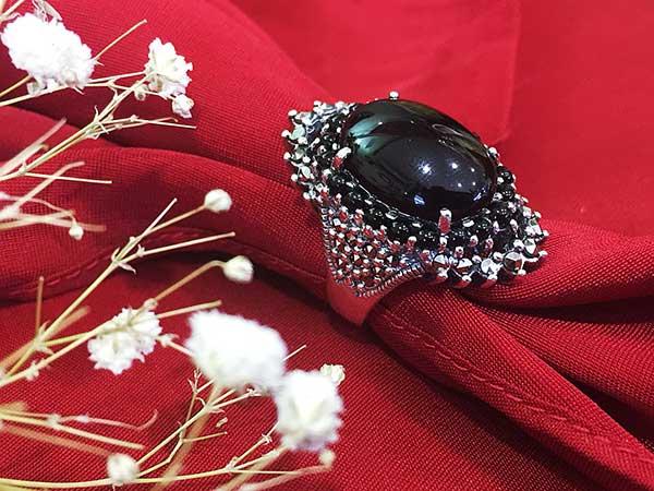 Nhẫn bạc nữ RI-447