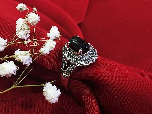 Nhẫn bạc nữ RI-529