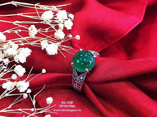 Nhẫn bạc nữ RI-1250