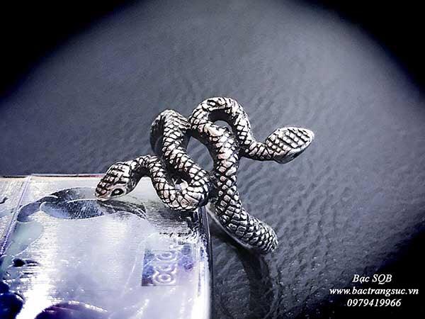 Nhẫn bạc Thái nam RI-1628 (OFF10%)