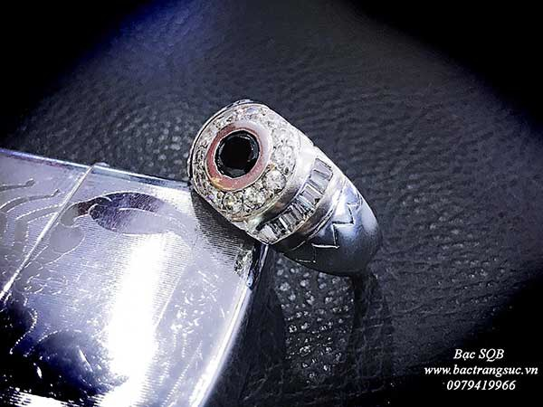 Nhẫn bạc Thái nam RI-1894 (OFF10%)