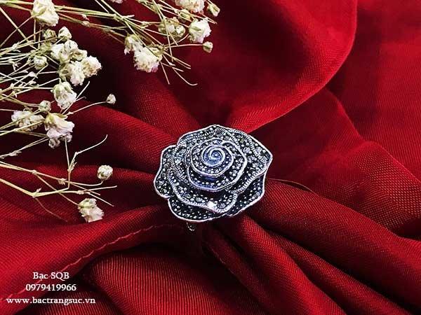 Nhẫn bạc nữ RI-1996