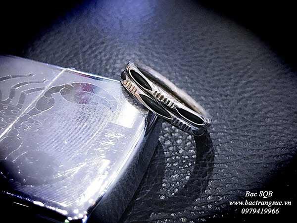 Nhẫn bạc Thái nam RI-2356 (OFF10%)