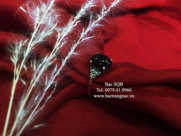 Nhẫn bạc nữ RI-2525