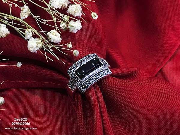 Nhẫn bạc nữ RI-2614