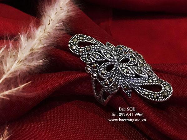 Nhẫn bạc nữ RI-2683