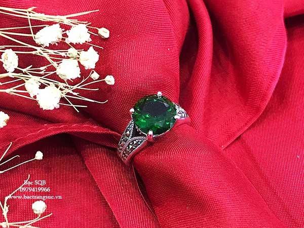 Nhẫn bạc nữ RI-2811
