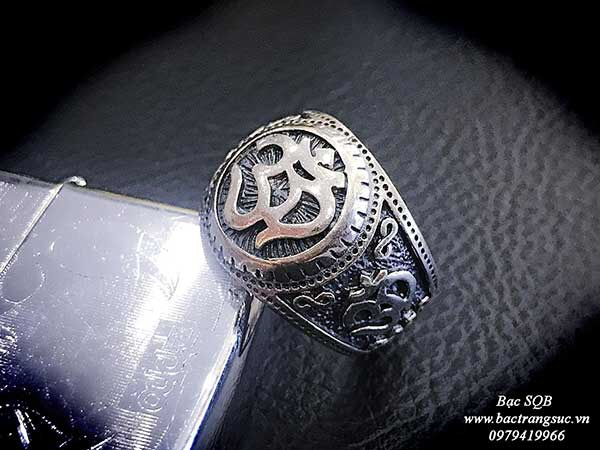 Nhẫn bạc Thái nam RI-3005 (OFF10%)