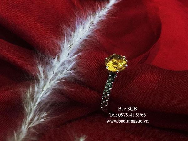 Nhẫn bạc nữ RI-3087