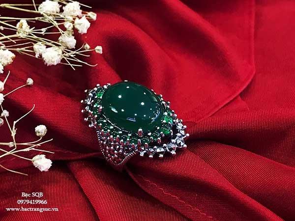 Nhẫn bạc nữ RI-448