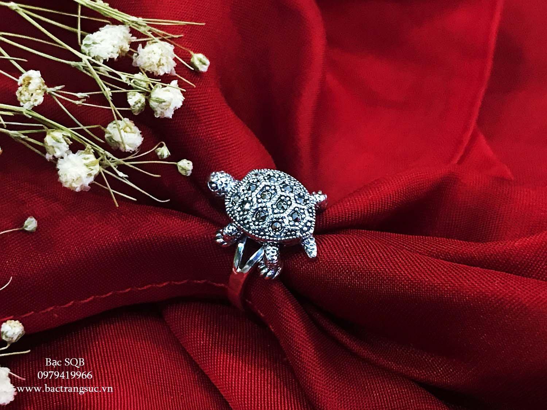 Nhẫn bạc nữ RI-522