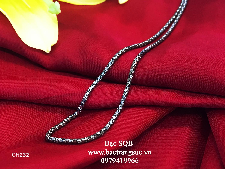Dây chuyền bạc nữ Thái Lan CH-232