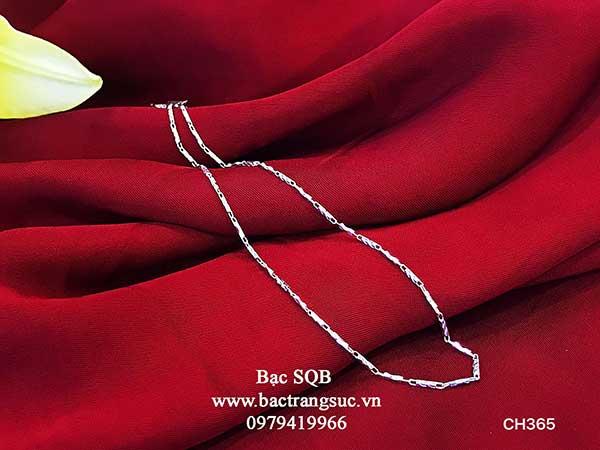 Dây chuyền bạc nữ Thái Lan CH-365