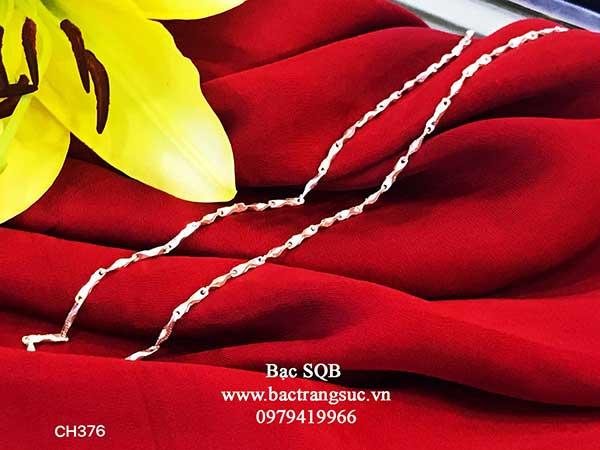 Dây chuyền bạc nữ Thái Lan CH-376