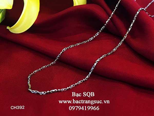 Dây chuyền bạc nữ Thái Lan CH-392