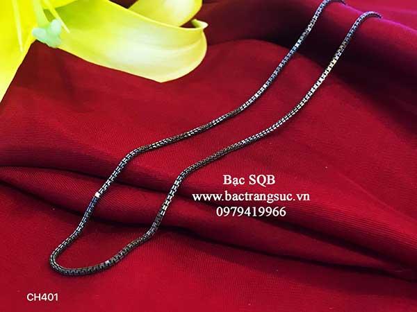 Dây chuyền bạc nữ Thái Lan CH-401