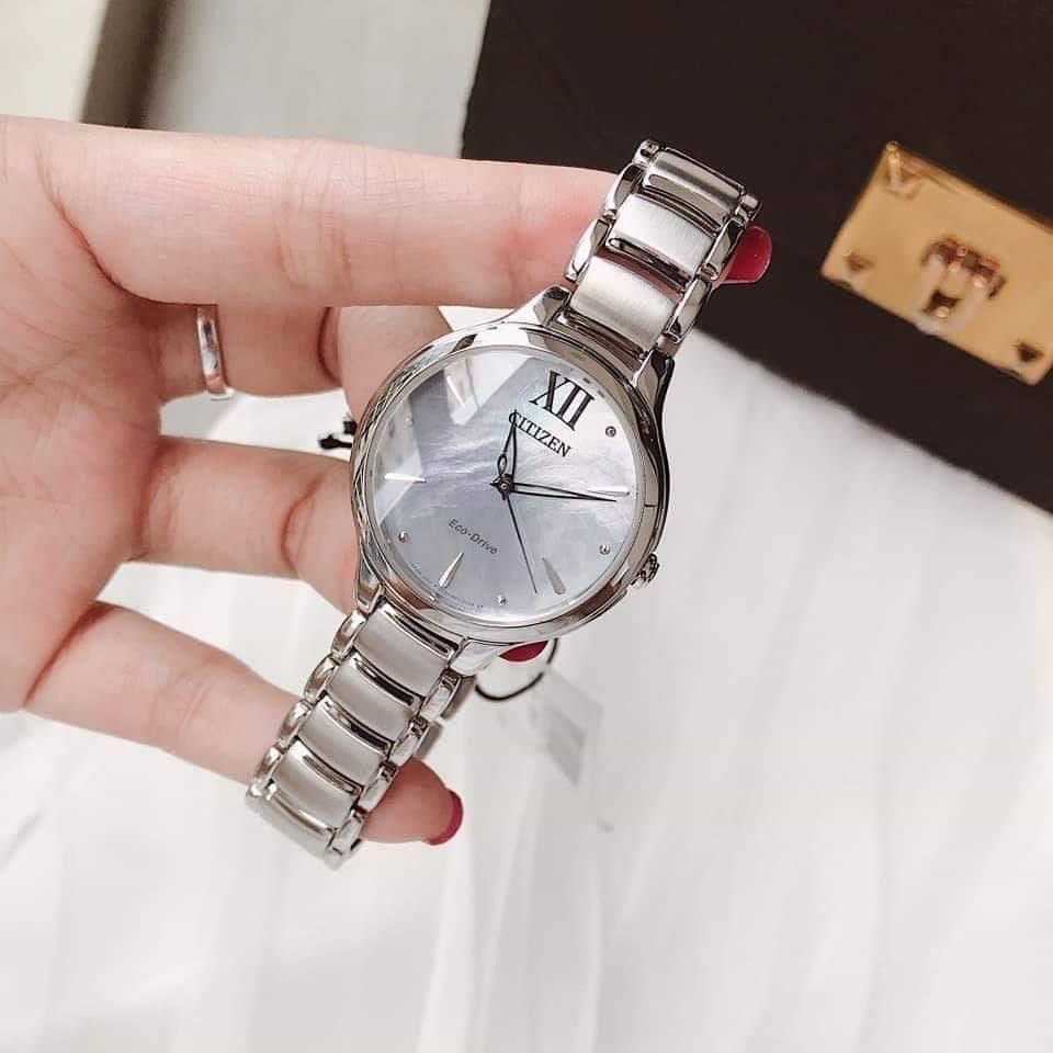 Đồng hồ nữ chính hãng Citizen EM0550-83N - Eco-Drive