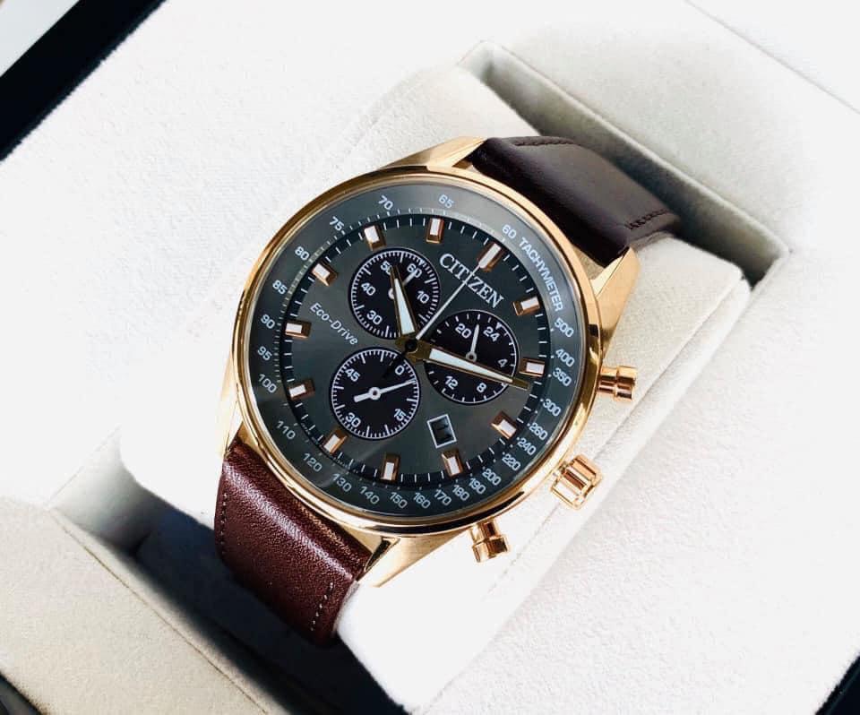 Đồng hồ nữ chính hãng Citizen Eco-Drive #AT2393-25H