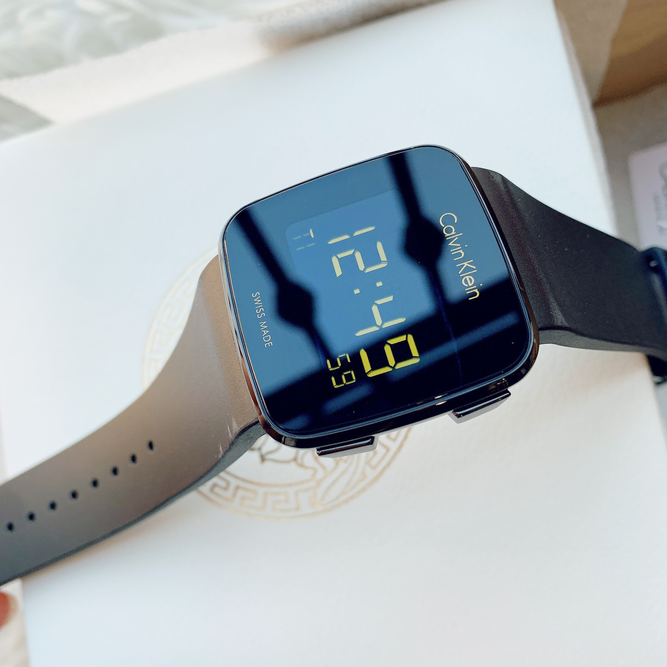 Đồng hồ nam chính hãng CK Future Chronograph Digital Watch
