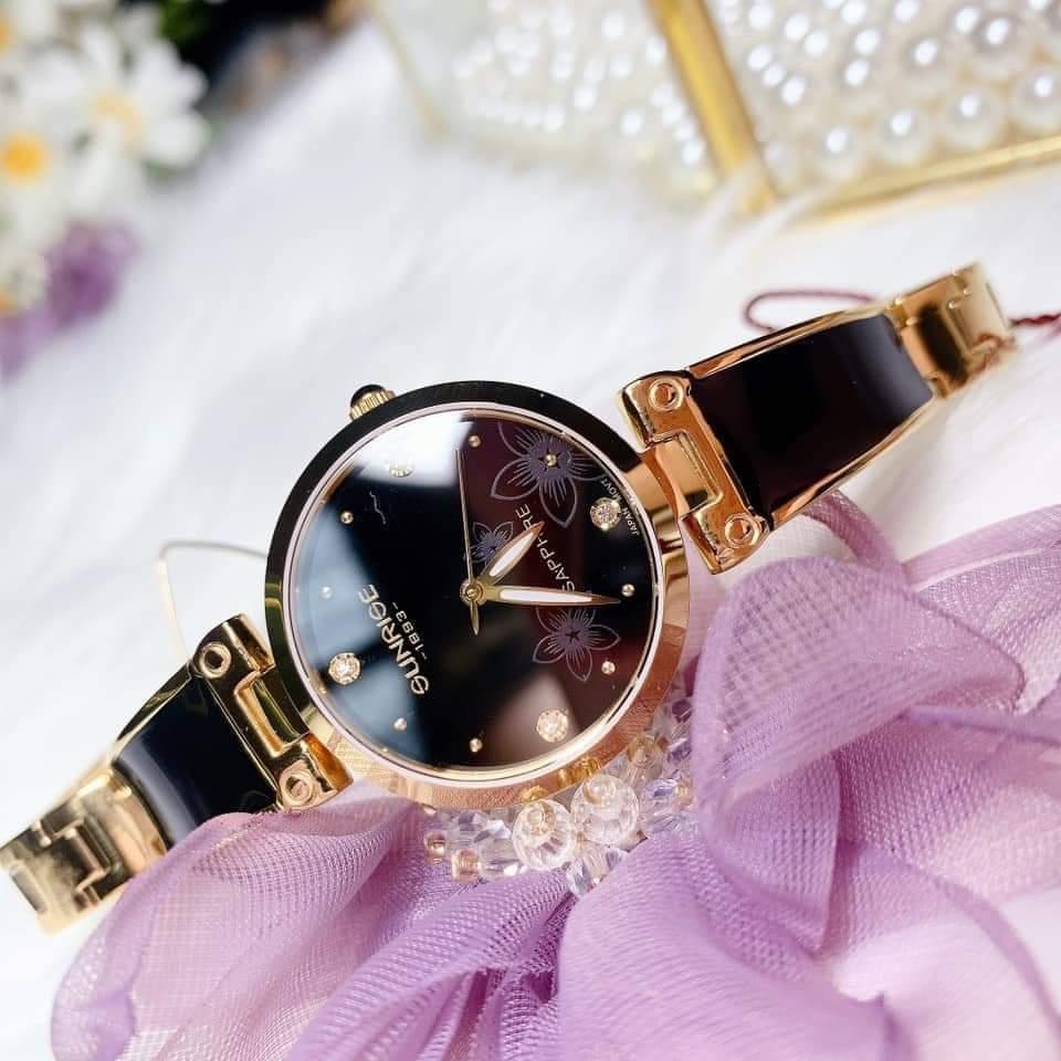 Đồng hồ chính hãng Sunrise đen