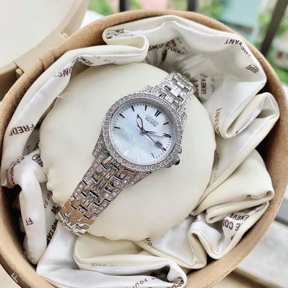 Đồng hồ chính hãng CITIZEN Eco-Drive EW1220-55D