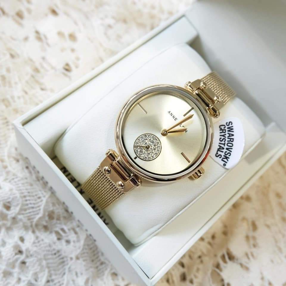 Đồng hồ hàng hiệu Anne Klein AK/3000CHGB