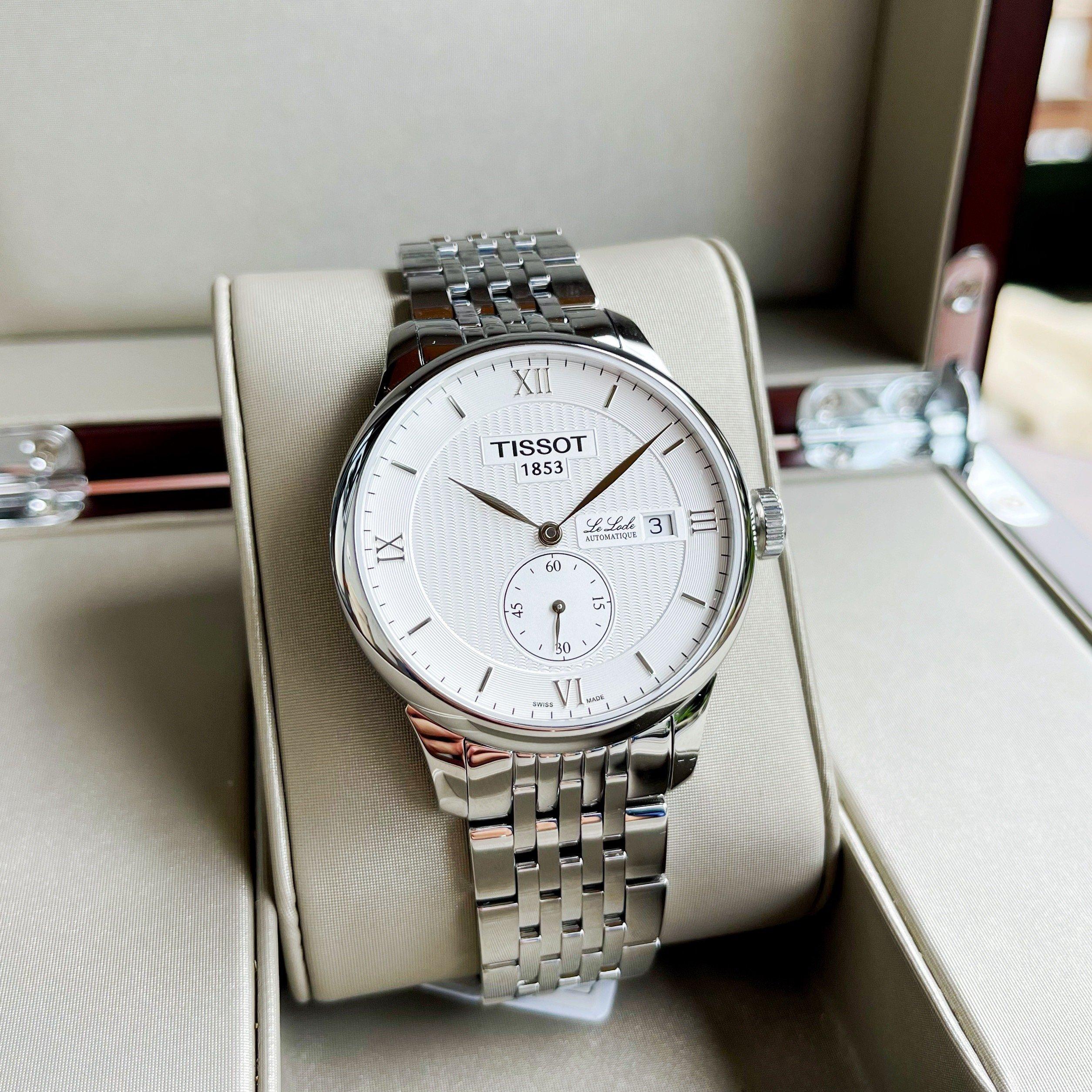 Đồng hồ hãng TISSOT LE LOCLE AUTOMATIC PETITE SECONDE