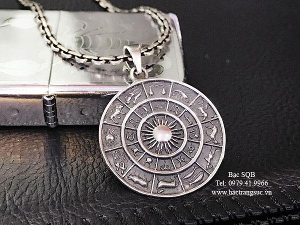 Mặt dây chuyền bạc nam PD-1133