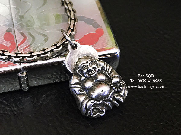 Mặt dây chuyền bạc nam PD-1657