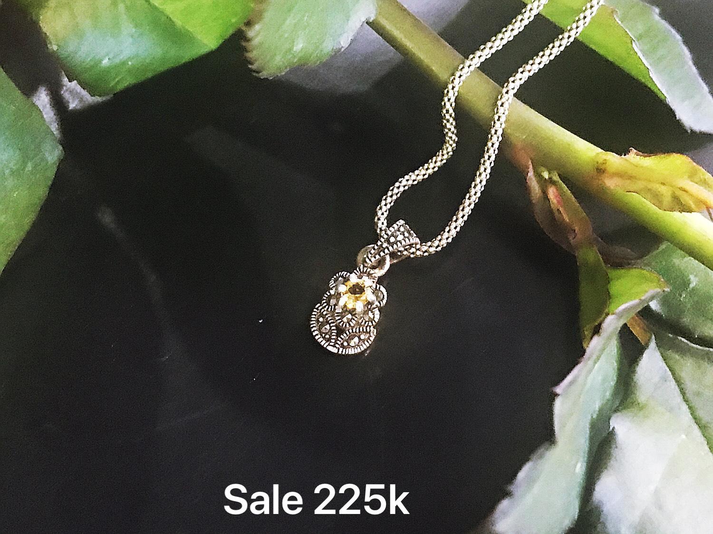 Mặt dây chuyền bạc Thái nữ PD-834 (OFF50%)