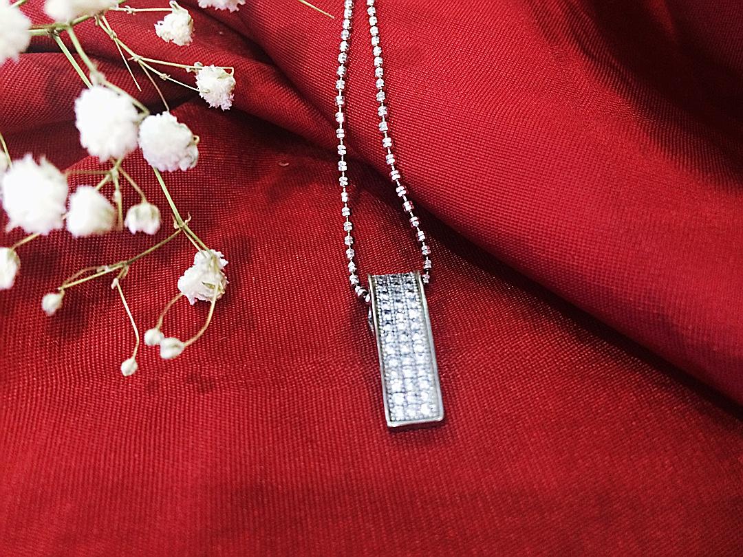 Mặt dây chuyền bạc nữ PD-1738 (OFF 50%)