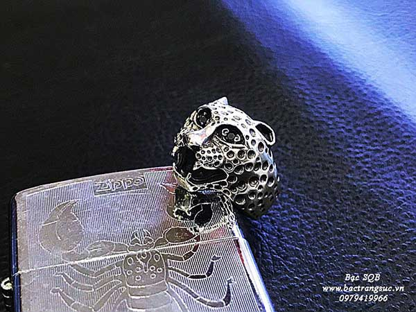 Nhẫn bạc nam RI-1880