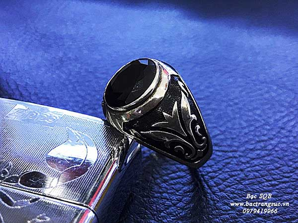 Nhẫn bạc Thái nam RI-2172 (OFF10%)