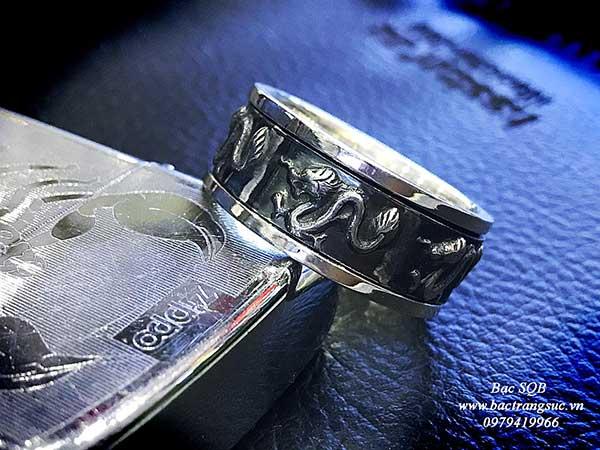 Nhẫn bạc nam RI-2229 (OFF50%)