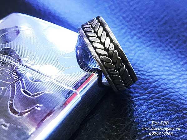 Nhẫn bạc nam RI-2230