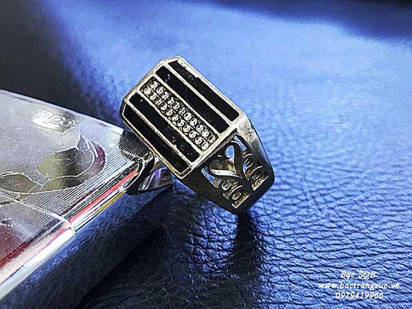 Nhẫn bạc Thái nam RI-2820 (OFF10%)