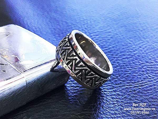 Nhẫn bạc nam RI-2940