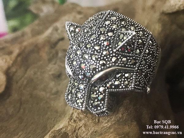 Nhẫn bạc nam RI-2981